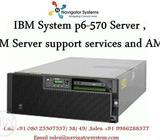 IBM System p6- 570 Server|IBM Server support services and AMC