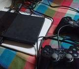 Playstation PS2 with CD with card crack already