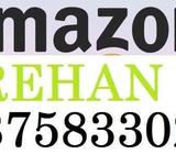 Amazon Full time job apply in helper,store keeper,supervisor,computer