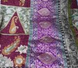 Tottaly new unused full work jaributi saree