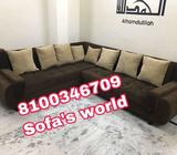 Black And Brown Sectional Sofa