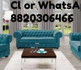 Brand new chesterfield sofa set