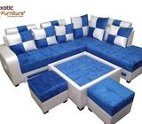 Brand new sofa set without table and