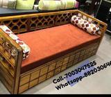 Brand new wooden dewan cum bed