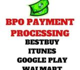 All USA Payment Processing for Tech Support BPO- On Day Payout-Best