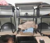 9Class chair n black board. 4 by 2 new black