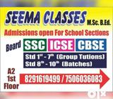 Hello friends tutions classes For students kg to