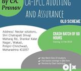 IPCC / CA INTER Audit and Assurance May 2019 Classes