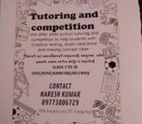 Tuition for 1 to 12 and competition