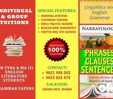Tuition for TYBA & MA (I) English Literature Students – Grammar Papers