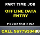 We Urgently Require Candidates For OFFLINE TYPING JOBS. 967793O48O