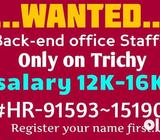 We want Freshers and experience persons... Below