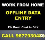 Who Are Interested In Part Time Job. Call 967793O48O For DATA ENTRY!!!