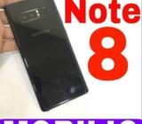 Samsung galaxy Note 8 (6/64) 1 year used only, Black