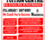 Tuition Classes for BE,ME,BBA,MBA
