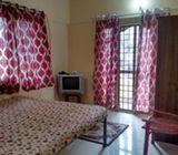 Furnished 1 room kitchen no brokerage 10000 p.m.Manyata tech park