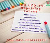 LED LCD TV  repair training