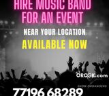 Hire Music Band for Birthdays and Private parties