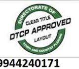 Installment Scheme DTCP approved plots available at sriperumbudur