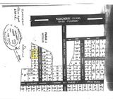 Resale  two vacant plots 1200 square feet each at Molasur/Tindivanam on NH 66 Pondicherry Highway.